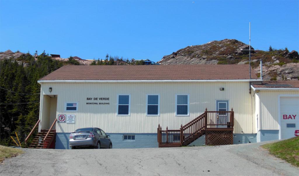 Town of Bay de Verde, NL, Canada - Town Office